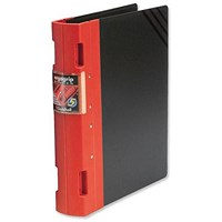 Guildhall GL Ergogrip 2 Ring Binder A4 Red (Pack of 2)