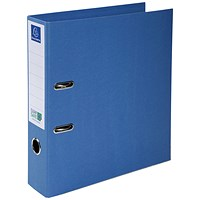 Exacompta Clean Safe Lever Arch File 70mm Blue