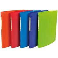 Forever Ring Binder Polpropylene A4 15mm Assorted (Pack of 20)