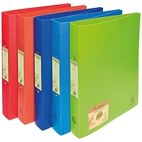Forever Ring Binder Polpropylene A4 30mm Assorted (Pack of 10)