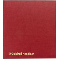 Guildhall Headliner Book 80 Pages 298x405mm 68/26 1447