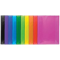 Exacompta Iderama Display Book 40 Pocket A4 Assorted (Pack of 12)