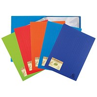 Exacompta Forever Display Book 20 Pocket Assorted (Pack of 20)