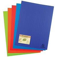 Exacompta Forever Display Book 50 Pocket Assorted (Pack of 8)