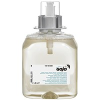 Gojo Mild Fragrance Free Hand Wash FMX 1250ml Refill - Pack of 3