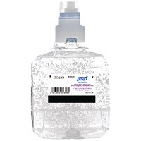 Purell Advanced Hygienic Hand Rub LTX-12 Refill 1200ml (Pack of 2) 1903-02-EEU
