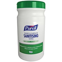 Purell Hand and Surface Sanitising Wipes (Pack of 200) 92106-06-EEU