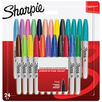 Sharpie Marker Fine Assorted (Pack of 24)