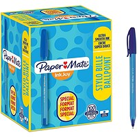 Paper Mate InkJoy 100 Ball Pen, Blue, Pack of 80 plus 20 FREE