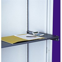 Graviti Plus Roll Out Reference Shelf - Graphite