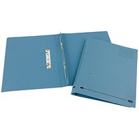 Elba Spirosort Transfer Files, 285gsm, Foolscap, Blue, Pack of 25