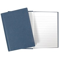 Cambridge Casebound Manuscript Book, A4, Ruled, 190 Pages, Pack of 5