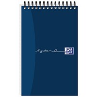 Oxford MyNotes Headbound Wirebound Notebook, 200x125mm, Ruled, 160 Pages, Pack of 10