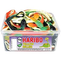 Haribo Giant Yellow Bellies Tub