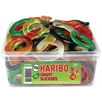 Haribo Giant Dummies 60 Sweet Tub 135440