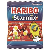 Haribo Starmix Sweets 140g Bag (Pack of 12)