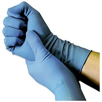 Shield Powder-Free Blue Nitrile Medium Gloves (Pack of 100)