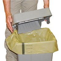 Clinical Waste Sack For Landfill Medium Duty Yellow (Pack of 250)