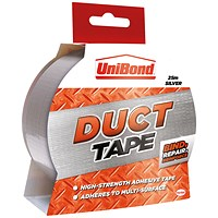 Unibond Duct Tape 50mmx25m Silver