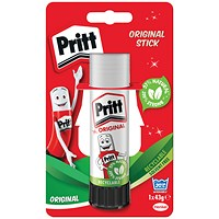 Pritt Stick Large 43G Glue Stick (Pack of 12)