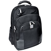 Monolith Executive Laptop Backpack W330 x D210 x H450mm Black