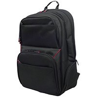 Monolith Lightweight Laptop Backpack W345 x D170 x H350mm Black