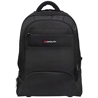 Monolith 2 In 1 Wheeled Laptop Backpack Black