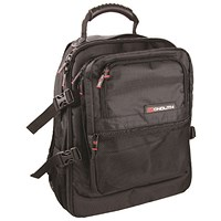 Monolith Premium Laptop Backpack W340 x D220 x H440mm Black