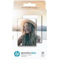 HP Sprocket Plus Photo Paper 5.8 x 8.7cm (Pack of 20) 2LY72A