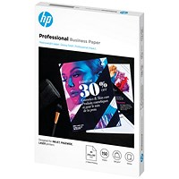 HP Professional Business Paper Glossy 180gsm A4 150 Sheets