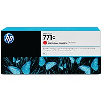 HP 771C Chromatic Red Ink Cartridge B6Y08A