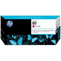 HP 80 Magenta Printhead and Cleaner C4822A