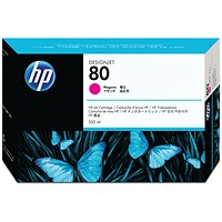 HP 80 High Yield Magenta Inkjet Print Cartridge C4847A