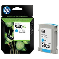 HP 940XL Cyan High Yield Ink Cartridge C4907AE
