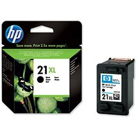 HP 21XL Black High Yield Ink Cartridge