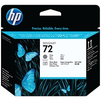 HP 72 Grey/Photo Black Printhead C9380A