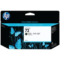 HP 72 Matt Black High Yield Ink Cartridge C9403A