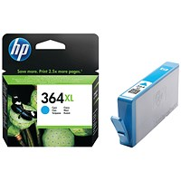 HP 364XL Cyan High Yield Ink Cartridge CB323EE