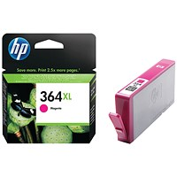 HP 364XL Magenta High Yield Ink Cartridge CB324EE