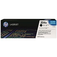 HP 304A Black Laser Toner Cartridge