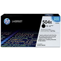 HP 504X Black Laser Toner Cartridge