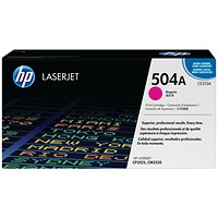 HP 504A Magenta Laser Toner Cartridge