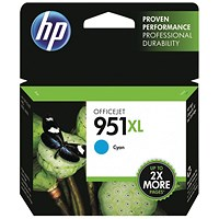 HP 951XL Cyan High Yield Ink Cartridge