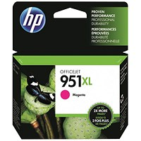 HP 951XL Magenta High Yield Ink Cartridge