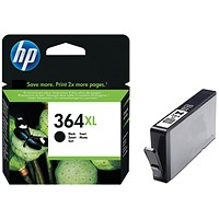 HP 364XL Black High Yield Ink Cartridge CN684EE