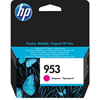 HP 953 Magenta Ink Cartridge F6U13AE