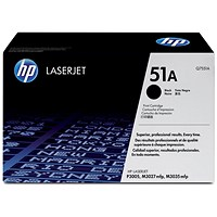 HP 51A Black Laser Toner Cartridge Q7551A
