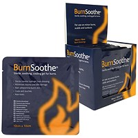 Reliance Medical BurnSoothe Burn Dressing 100 x 100mm (Pack of 10)
