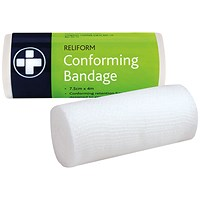 Reliance Medical Reliform Conforming Bandage 75mmx4m (Pack of 10)