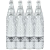 Harrogate Sparkling Water - 12 x 750ml Glass Bottles